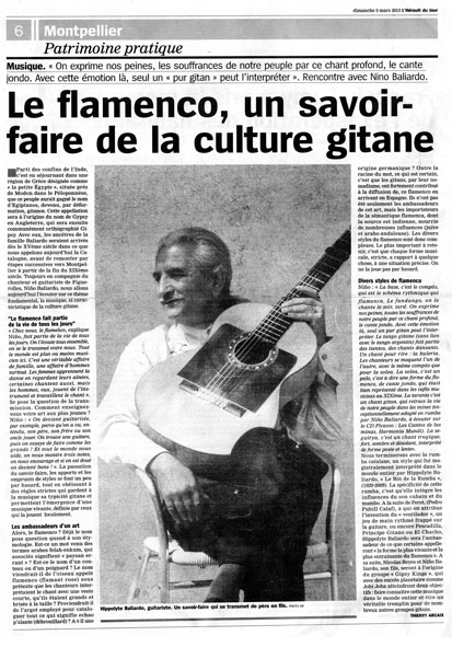 flamenco et culture gitane